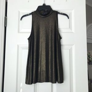NWT One Clothing Shimmery Halter Tank